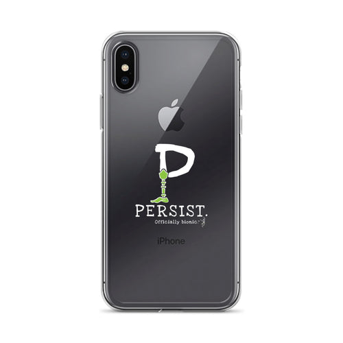 PERSIST iPhone Case (for darker-colored phones)