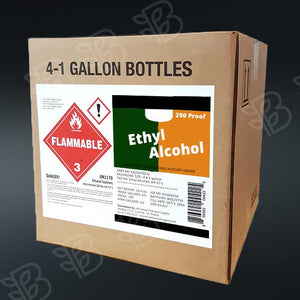 Ethanol 200 Proof    4 - 1 Gallon Container