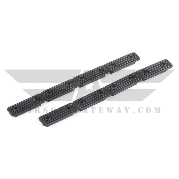 ASG M-Lok Rail Slot Cover - 2 Piece Set - airsoftgateway.com