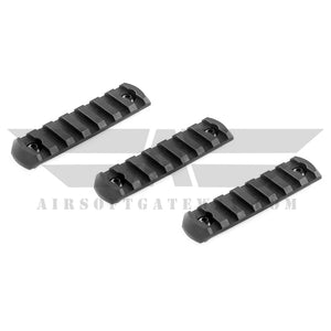 ASG M-Lok Rail Segment Long - 3 Piece Set - airsoftgateway.com