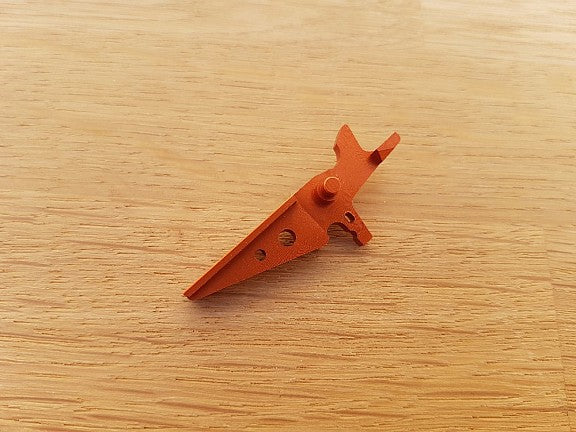 Retro Arms CNC M4 Triggers - Type A - Orange - airsoftgateway.com