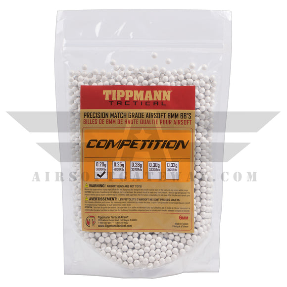 Tippmann Precision Competition Grade BBs 5.95mm +- .01mm - .20g - 15,000 Count(Total) - 3 pack