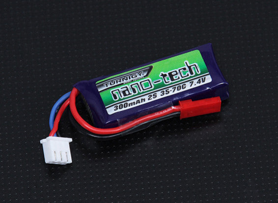 Turnigy Nano-Tech 7.4v 35c 300mAh Lipo For Polar Star - JST - airsoftgateway.com