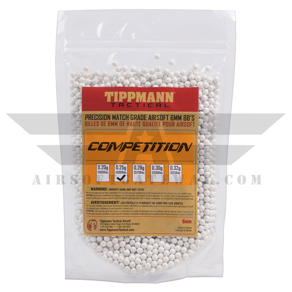 Tippmann Tactical Precision Competition BBs .25g - 4000rd
