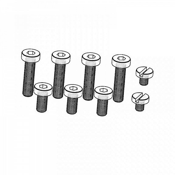 Retro Arms Set of screws for Retro ARMS gearboxes - Version 2 - airsoftgateway.com