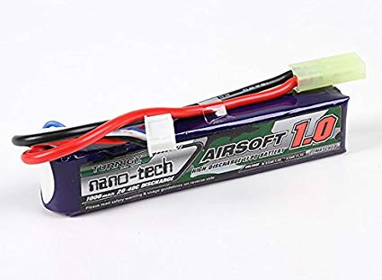 Turnigy Nano-Tech 11.1v 20c 1000mAh Lipo - Mini Tamiya - Stick Type - airsoftgateway.com