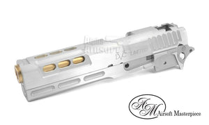 "Airsoft Masterpiece DVC STI Limited ""Older Brother"" Standard Kit for Hi-Capa - Silver/Gold - airsoftgateway.com"