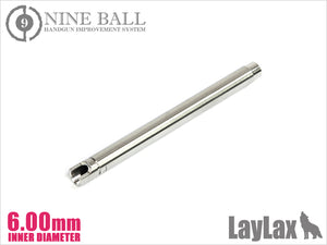 Nineball GBB G34 series Power Barrel 102 mm Length φ 6.00 mm Bore - airsoftgateway.com