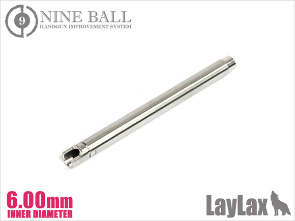 Nineball GBB G34 series Power Barrel 102 mm Length φ 6.00 mm Bore
