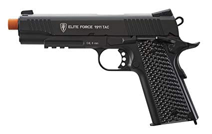 ELITE FORCE 1911 TAC CO2 AIRSOFT PISTOL – BLACK - airsoftgateway.com
