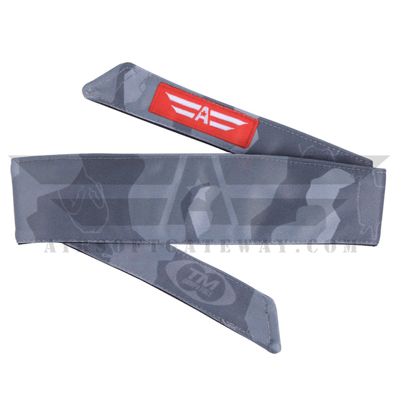 TM Compatible Urban Millennial Camo Headband - Grey - airsoftgateway.com