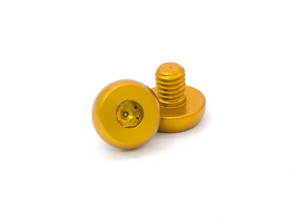 ***FLASH SALE*** AIP 7075 Aluminum Grip Screws For TM Hi-CAPA 4.3/5.1 - Gold ***FLASH SALE*** - airsoftgateway.com