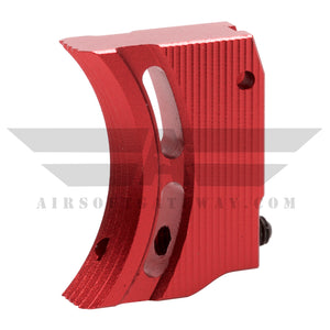 Airsoft Masterpiece Aluminum Trigger Type 1 Red - airsoftgateway.com