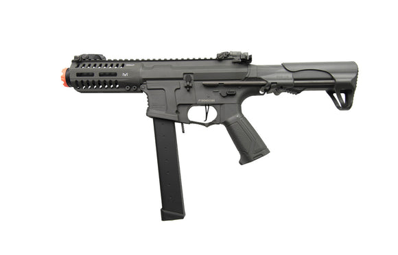 G&G Armament ARP 9 AEG Airsoft Rifle Gun with Battery and Charger - Battleship Grey