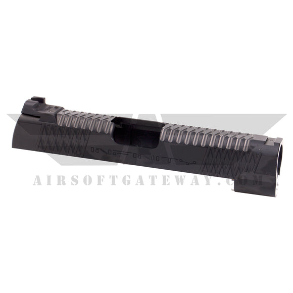Airsoft Masterpiece 4.3 Infinity Slide with Rear Sight - Black - airsoftgateway.com