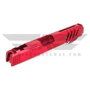 Airsoft MasterPiece Saber for Tokyo Marui Hi-Capa 5.1 - NO MARKING - Red - airsoftgateway.com