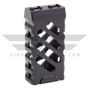 Airsoft AEG Type C M-Lok Vertical Fore Grip - Black - airsoftgateway.com