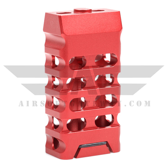 AirStrike AEG Type C Keymod Vertical Fore Grip - Red - airsoftgateway.com