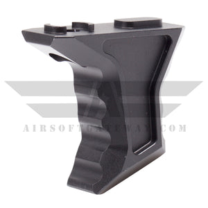 AirStrike AEG Type S M-LOK Angled Fore Grip - Black - airsoftgateway.com