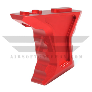 AirStrike AEG Type S M-Lok Angled Fore Grip - Red - airsoftgateway.com