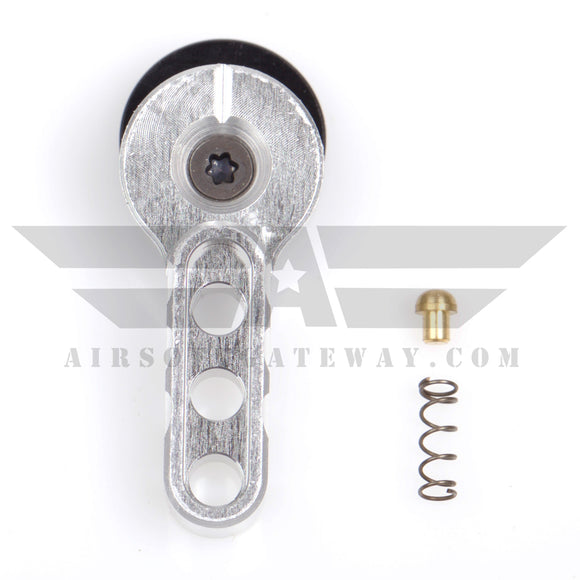 Airsoft M4 AEG CNC Selector Fire Switch - Silver - airsoftgateway.com