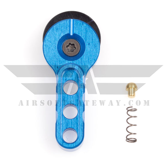 Airsoft M4 AEG CNC Selector Fire Switch - Blue - airsoftgateway.com