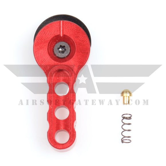 Airsoft M4 AEG CNC Selector Fire Switch - Red - airsoftgateway.com