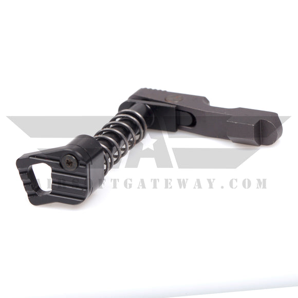 Airsoft M4 AEG Extended Ambidextrous Magazine Release - Black - airsoftgateway.com