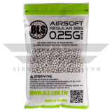 BLS Precision Grade BBs 5.95mm +- .01mm - .25g - 12000 Total Count - (3 Pack) - airsoftgateway.com