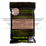 BLS Tracer Precision BBs 5.95mm +- .01mm - .25g - 8000 Total Count - RED - (2 Pack) - airsoftgateway.com