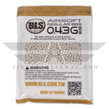 BLS Precision Grade BBs 5.95mm +- .01mm - .43g - 4600 Total Count - (2 Pack) - airsoftgateway.com