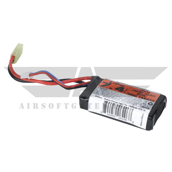 Valken Energy LiPo 7.4v 1300mAh 20C PEQ Battery