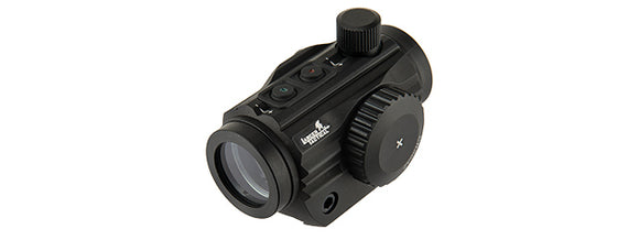 Lancer Tactical 1 X 30 Mini Red/Green Dot Sight - Black - airsoftgateway.com