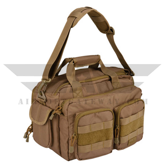 Lancer Tactical Range Bag - Tan - airsoftgateway.com