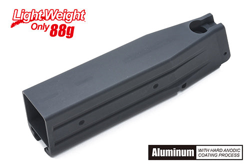Guarder Aluminum Magazine Case for TM Hi-CAPA Series - No Marking BLACK - airsoftgateway.com