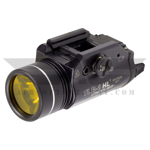 Ricochet Duo Replacement BB Proof Lens For Streamlight TLR-1 HL & TLR-1/S - Vitamin P Yellow -Y5