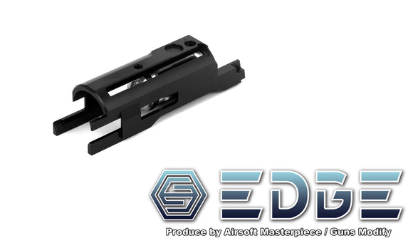 EDGE Aluminum Blowback Housing for Hi-CAPA/1911 - Black - airsoftgateway.com
