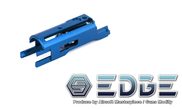 EDGE Aluminum Blowback Housing for Hi-CAPA/1911 - Blue - airsoftgateway.com
