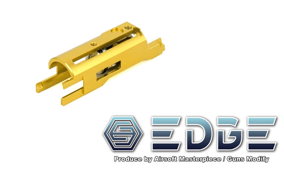 EDGE Aluminum Blowback Housing for Hi-CAPA/1911 - Gold - airsoftgateway.com