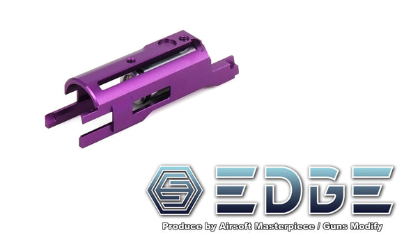EDGE Aluminum Blowback Housing for Hi-CAPA/1911 - Purple - airsoftgateway.com