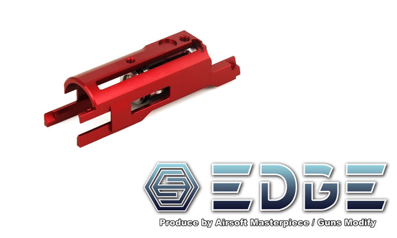 EDGE Aluminum Blowback Housing for Hi-CAPA/1911 - Red - airsoftgateway.com
