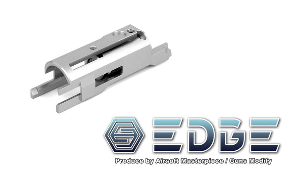 EDGE Aluminum Blowback Housing for Hi-CAPA/1911 - Silver - airsoftgateway.com