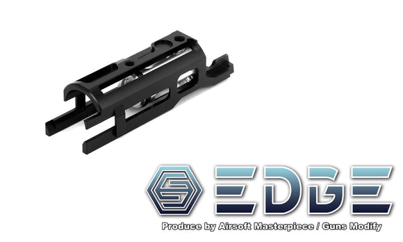 EDGE ULTRA LIGHT Aluminum Blowback Housing for Hi-CAPA/1911 - Black - airsoftgateway.com