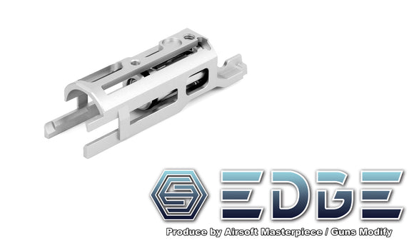 EDGE ULTRA LIGHT Aluminum Blowback Housing for Hi-CAPA/1911 - Silver - airsoftgateway.com