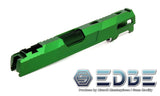 "EDGE Custom ""Aqua"" Aluminum Standard Slide for Hi-CAPA/1911 - Green - airsoftgateway.com"