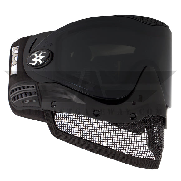 Tippmann Tactical Empire E-Mesh Airsoft Goggle System - Black - Thermal Smoke - airsoftgateway.com