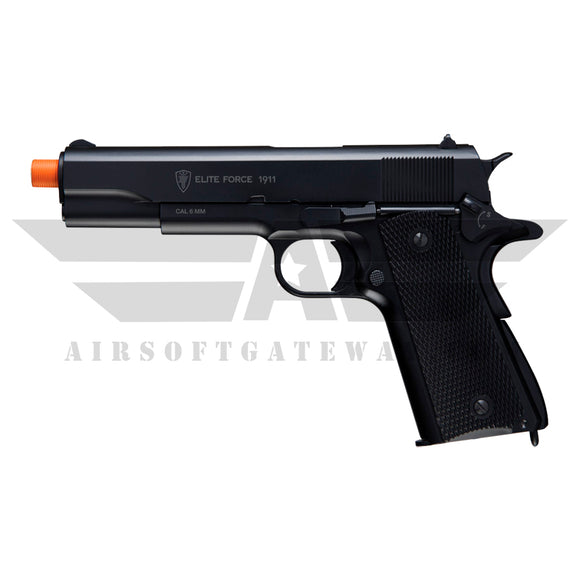 Elite Force 1911A1 CO2 Airsoft Pistol – Black - airsoftgateway.com