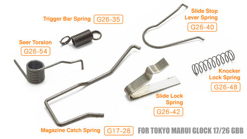 Guarder TM G Series Enhanced Spring Set