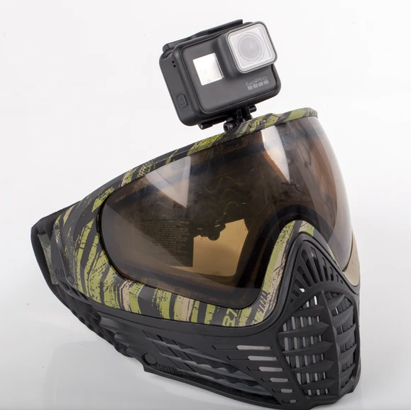 HK Army Paintball Mask Goggle Camera Mount - airsoftgateway.com