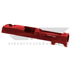 Airsoft Masterpiece Hawk Slide for Tokyo Marui Hi-Capa 5.1 - Red - airsoftgateway.com